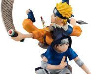 Naruto & Sasuke (Naruto Shippuden) G.E.M. Remix PVC-Statue 1/8 15cm Megahouse