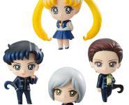 Three Lights / Star Lights (Sailor Moon) Petit Chara PVC-Statuen 4Stk. 6cm Megahouse