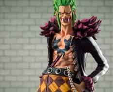 Bartolomeo the Cannibal (One Piece) Excellent Model P.O.P. PVC-Statue 1/8 24cm Megahouse