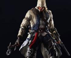 Connor Kenway (Assassin's Creed 3) Play Arts Kai Actionfigur 28cm SquareEnix