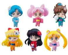 Let's go to festival (Sailor Moon) Petit Chara PVC-Statuen 6Stk. 6cm Megahouse