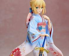 Saber Kimono Version (Fate/Stay Night Unlimited Blade Works) PVC-Statue 1/7 25cm Aniplex