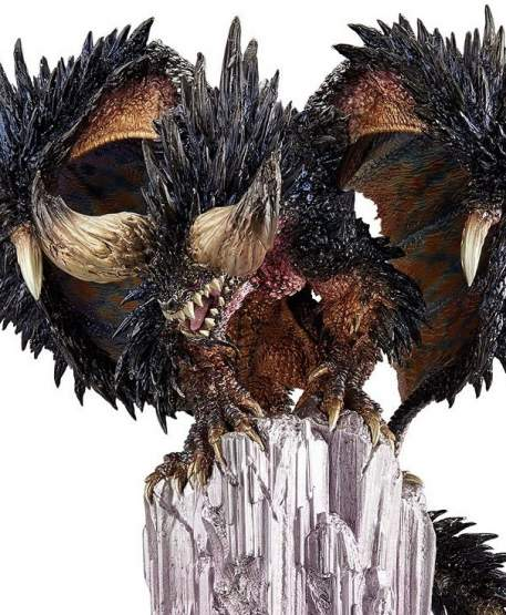 Arch-tempered Nergigante (Monster Hunter) CFB Creators Model PVC-Statue 32cm Capcom