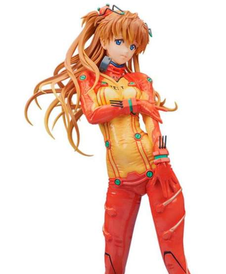 Asuka Shikinami Langley Test Plugsuit Version (Evangelion 2.0 You Can Not Advance) PVC-Statue 1/4 39cm Bellfine
