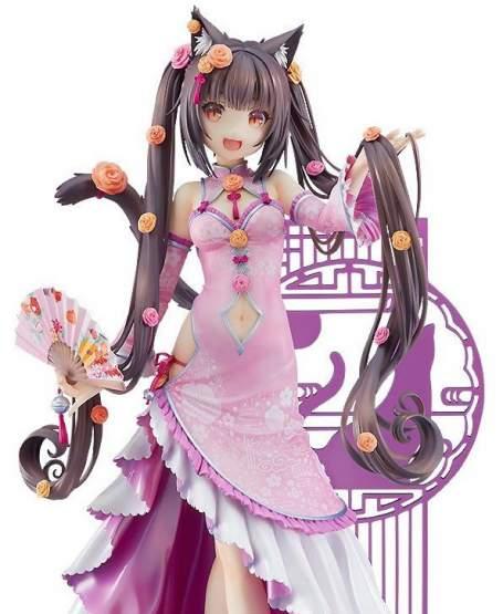 Chocola Chinese Dress Version (Nekopara) PVC-Statue 1/7 22cm Good Smile Company