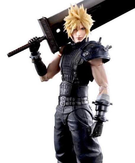 Cloud Strife Version 2 (Final Fantasy 7 Remake) Play Arts Kai Actionfigur 27cm Square Enix