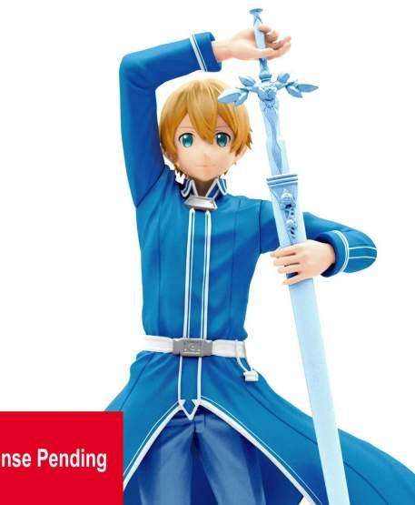 Eugeo Blue Uniform Version (Sword Art Online Alicization) EXQ PVC-Statue 18cm Banpresto