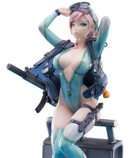 Frog Lady Aegir (After-School Arena) PVC-Statue 1/7 22cm Damtoys