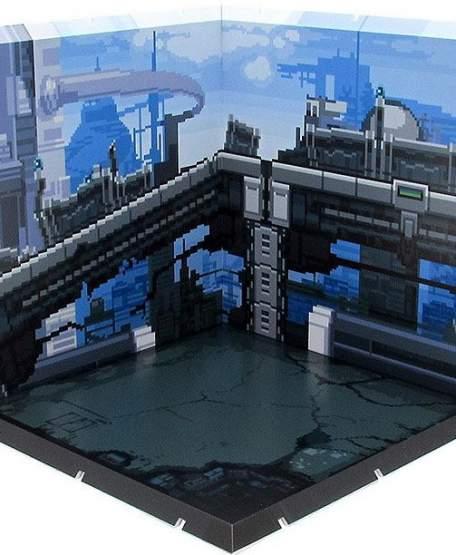 Future Town Pixel Art Dioramansion 150 Zubehör-Set für Nendoroid und Figma Actionfiguren von PLM