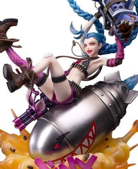Jinx (League of Legends) PVC-Statue 1/7 24cm Myethos