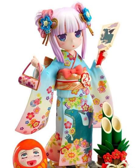 Kanna Finest Kimono (Miss Kobayashi's Dragon Maid) PVC-Statue 1/7 17cm FuRyu