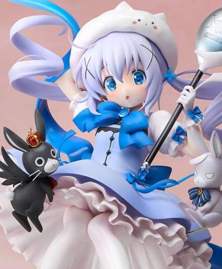 Mahou Shoujo Chino (Is the Order a Rabbit) PVC-Statue 1/7 21cm Stronger