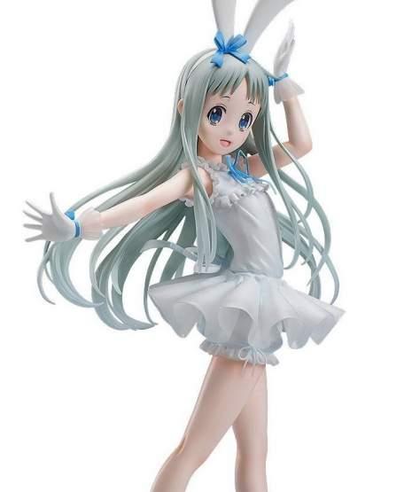Menma Rabbit Ears Version (Ano Hi Mita Hana no Namae o Bokutachi wa Mada Shiranai) PVC-Statue 1/4 40cm FREEing