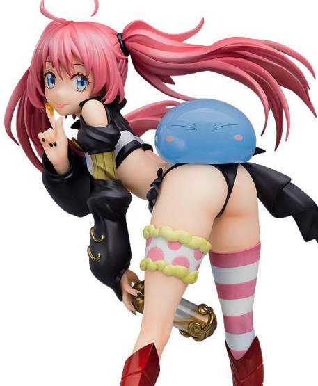 Milim mit Rimuru (That Time I Got Reincarnated as a Slime) PVC-Statue 1/7 19cm Bandai Namco / Good Smile Company