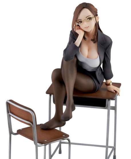 Miru Tights Okuzumi Yuiko Sensei (Original Character) PVC-Statue 20cm Union Creative