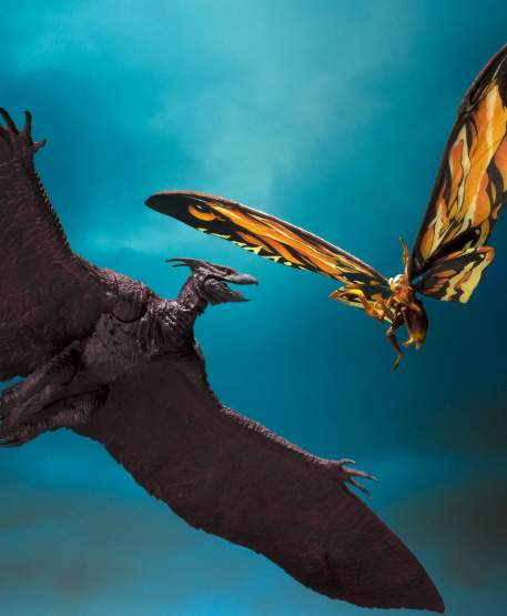 Mothra & Rodan (Godzilla: King of Monsters 2019) S.H. MonsterArts-Actionfiguren Doppelpack 26 & 35cm Bandai Tamashii Nations