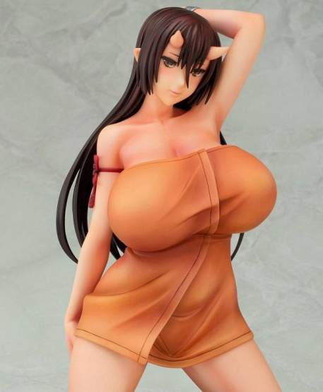 Onimusume Hiiragi-chan (Oni no Yu) PVC-Statue 1/6 20cm Daiki Kougyou