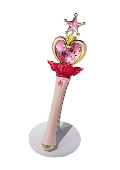 Pink Moon Stick Tamashii Web Exclusive (Sailor Moon) Proplica Replik 27cm Bandai Tamashii Nations
