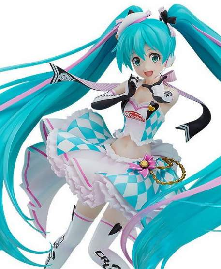 Racing Miku 2019 Version feat Annindoufu (Hatsune Miku GT Project) PVC-Statue 1/7 21cm Good Smile Racing