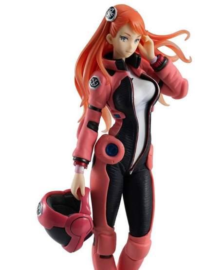 Recongista Aida Sulgan Long Hair Version (Mobile Suit Gundam) Gundam Girls Generation PVC-Statue 16cm Megahouse