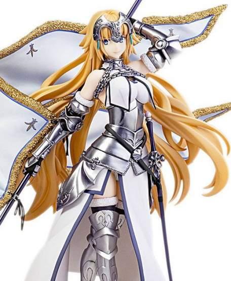 Ruler/Jeanne d'Arc (Fate/Grand Order) PVC-Statue 25cm (39cm mit Flagge) Flare