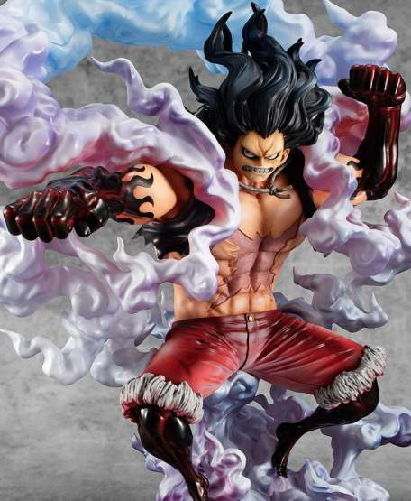 SA-Maximum Monkey D. Ruffy Gear 4 Snake Man (One Piece) P.O.P. PVC-Statue 1/8 26cm Megahouse