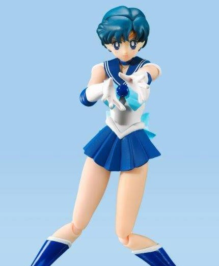 Sailor Mercury Animation Color Edition (Sailor Moon) S.H. Figuarts-Actionfigur 14cm Bandai Tamashii Nations