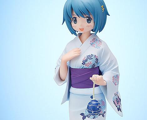 Sayaka Miki Yukata Version (Puella Magi Madoka Magica) PVC-Statue 1/8 19cm FREEing