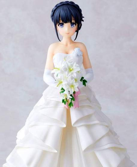 Shoko Mahinohara Wedding Version (Rascal Does Not Dream of Bunny Girl Senpai) PVC-Statue 1/7 22cm Aniplex