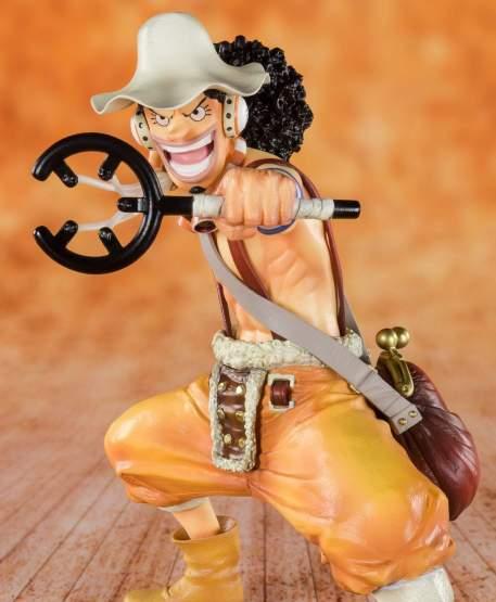 Sniper König Lysop (One Piece) FiguartsZERO PVC-Statue 12cm Bandai Tamashii Nations