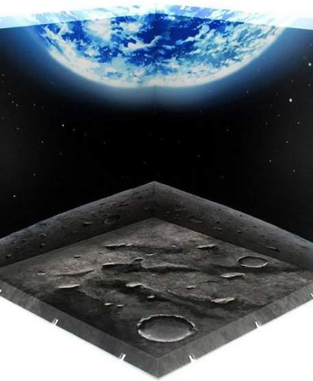 Surface of the Moon Dioramansion 150 Zubehör-Set für Nendoroid und Figma Actionfiguren von PLM