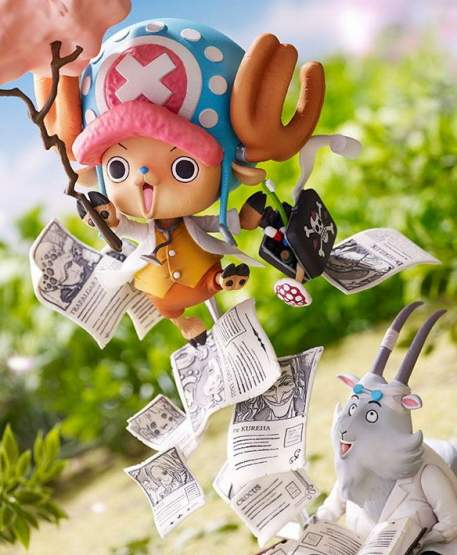 Tony Tony Chopper Challenge from GReeeeN (One Piece) Special Collaboration PVC-Statue 20cm Banpresto