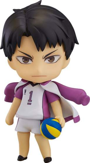 Wakatoshi Ushijima (Haikyuu!!) Nendoroid 789 Actionfigur 10cm Orange Rouge