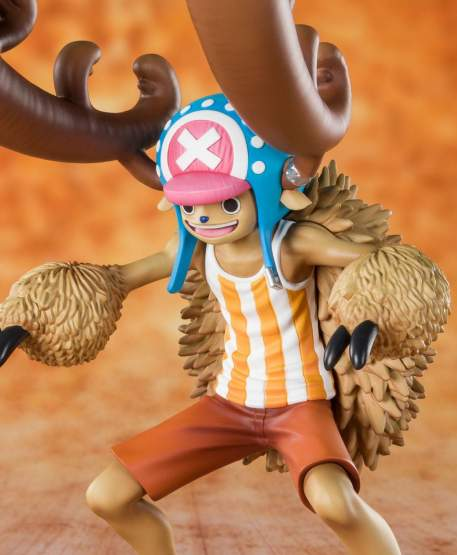 Zuckerwatten-Liebhaber Chopper Horn Point Version (One Piece) FiguartsZERO PVC-Statue 13cm Bandai Tamashii Nations