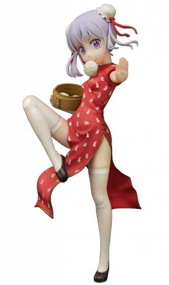 Aoba Suzukaze Emon Restaurant Mandarin Dress Version (New Game!) PVC-Statue 1/7 21cm Emon Toys