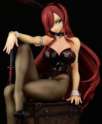 Erza Scarlet Bunny Girl Style (Fairy Tail) PVC-Statue 1/6 20cm Orca Toys