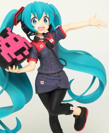 Hatsune Miku Taito Uniform Version 2 Game Prize (Vocaloid) PVC-Statue 18cm Taito Prize