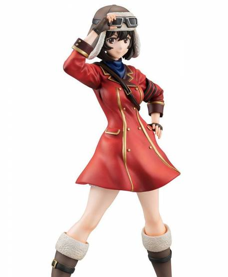 Kylie (The Kotobuki Squadron in The Wilderness) PVC-Statue 21cm Megahouse
