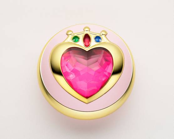 Verwandlungsbrosche Sailor Chibi Moon (Sailor Moon) Proplica Replik 7cm Bandai Tamashii Nations