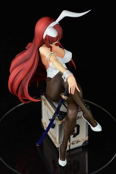 Erza Scarlet Bunny Girl Style Type White (Fairy Tail) PVC-Statue 1/6 20cm Orca Toys