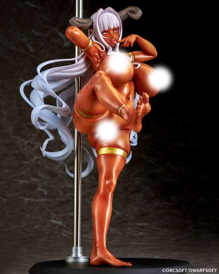 Frisia Ornstein (Muchimuchi Dekapai Mara Gui Maou-sama to Onboro Yojouhan) PVC-Statue 1/6 29cm Q-Six