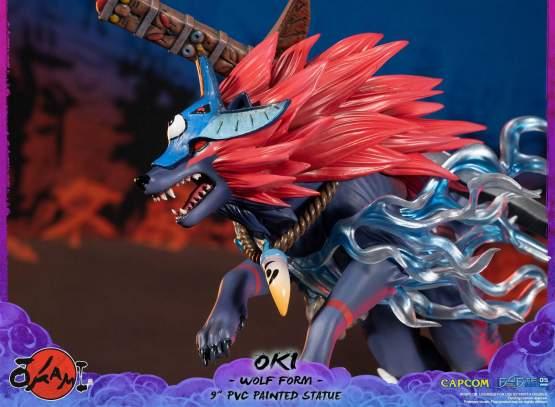 Oki Wolf Form (Okami) PVC-Statue 21cm First4Figures