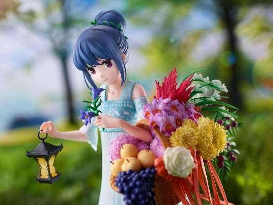 Rin Shima Birthday Version (Laid-Back Camp) PVC-Statue 1/7 24cm Wanderer
