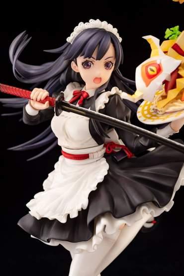 Samurai Katanoko Maid Style (7th Dragon 2020 II) PVC-Statue 1/7 21cm Ques Q