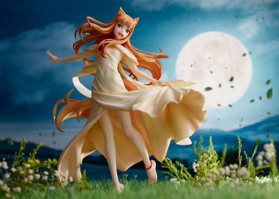Holo (Spice and Wolf) PVC-Statue 1/7 23cm Ques Q