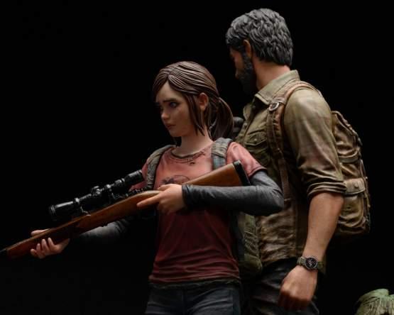 Joel & Ellie (The Last of Us) PVC-Statue 1/9 19/22cm Mamegyorai