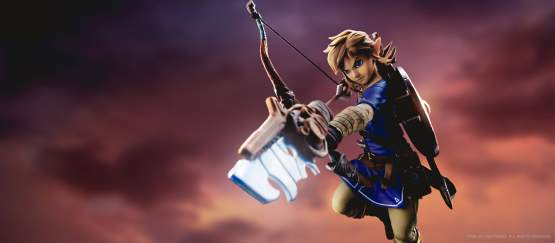 Link (The Legend of Zelda Breath of the Wild) PVC-Statue 25cm First4Figures