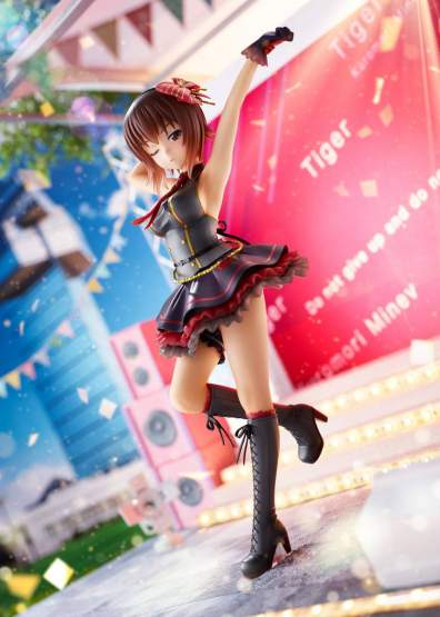 Maho Nishizumi Idol Style (Girls und Panzer: Senshado Daisakusen) DreamTech PVC-Statue 1/7 24cm Wave -RÜCKLÄUFER-