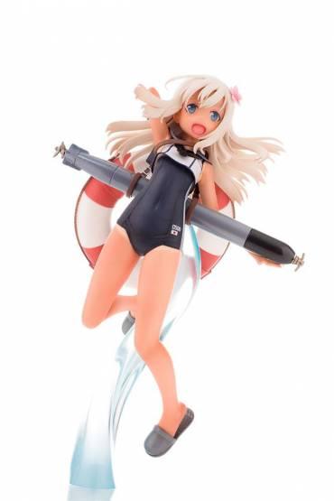 Submarine Lo500 (Kantai Collection) PVC-Statue 17cm Ques Q
