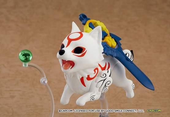 Amaterasu DX Version (Okami) Nendoroid 1365-DX Actionfigur 10cm Max Factory